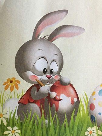 Une petite histoire de Pâques: Gambadin le lapin et les œufs de Pâques