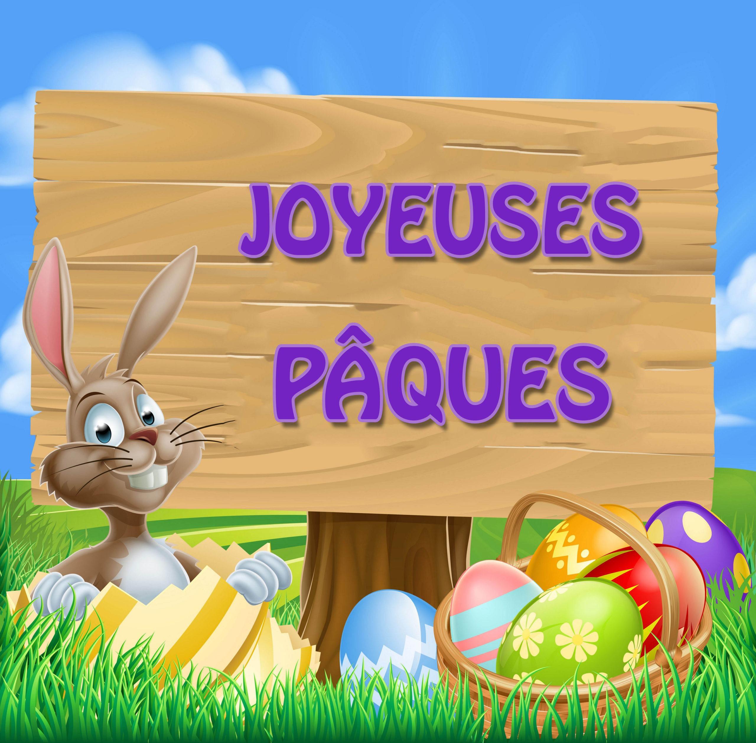 Gambadin le lapin reçoit le plus beau cadeau de Pâques